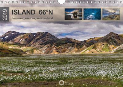 Island 66°N faszinierend, emotional, atemberaubend (Wandkalender 2019 DIN A4 quer), Peter Leipe (leipe photography)
