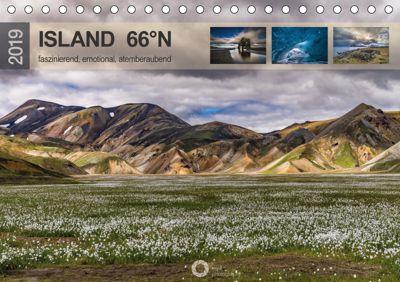 Island 66°N faszinierend, emotional, atemberaubend (Tischkalender 2019 DIN A5 quer), Peter Leipe (leipe photography)