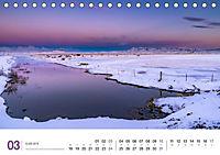 Island 66°N faszinierend, emotional, atemberaubend (Tischkalender 2019 DIN A5 quer) - Produktdetailbild 3