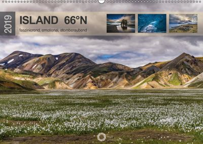 Island 66°N faszinierend, emotional, atemberaubend (Wandkalender 2019 DIN A2 quer), Peter Leipe (leipe photography)