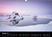 Island - Ein Wintertraum (Wandkalender 2019 DIN A3 quer) - Produktdetailbild 2