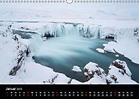 Island - Ein Wintertraum (Wandkalender 2019 DIN A3 quer) - Produktdetailbild 1