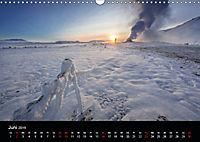 Island - Ein Wintertraum (Wandkalender 2019 DIN A3 quer) - Produktdetailbild 6
