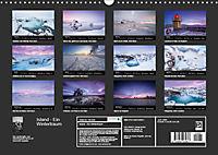 Island - Ein Wintertraum (Wandkalender 2019 DIN A3 quer) - Produktdetailbild 13