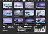 Island - Ein Wintertraum (Wandkalender 2019 DIN A4 quer) - Produktdetailbild 13