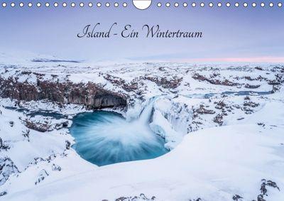 Island - Ein Wintertraum (Wandkalender 2019 DIN A4 quer), Markus van Hauten