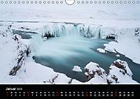 Island - Ein Wintertraum (Wandkalender 2019 DIN A4 quer) - Produktdetailbild 1