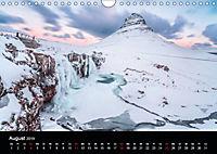 Island - Ein Wintertraum (Wandkalender 2019 DIN A4 quer) - Produktdetailbild 8