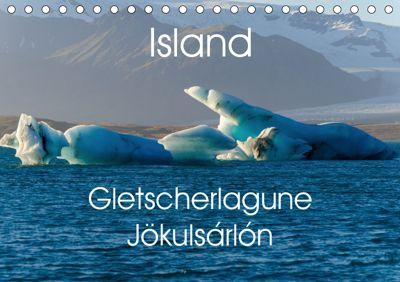 Island - Gletscherlagune Jökulsárlón (Tischkalender 2019 DIN A5 quer), Alexander Voigt