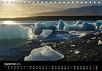 Island - Gletscherlagune Jökulsárlón (Tischkalender 2019 DIN A5 quer) - Produktdetailbild 9