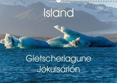 Island - Gletscherlagune Jökulsárlón (Wandkalender 2019 DIN A3 quer), Alexander Voigt