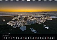 Island - Gletscherlagune Jökulsárlón (Wandkalender 2019 DIN A3 quer) - Produktdetailbild 1