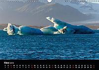 Island - Gletscherlagune Jökulsárlón (Wandkalender 2019 DIN A3 quer) - Produktdetailbild 3