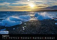 Island - Gletscherlagune Jökulsárlón (Wandkalender 2019 DIN A3 quer) - Produktdetailbild 8