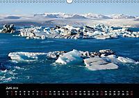 Island - Gletscherlagune Jökulsárlón (Wandkalender 2019 DIN A3 quer) - Produktdetailbild 6