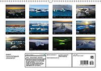 Island - Gletscherlagune Jökulsárlón (Wandkalender 2019 DIN A3 quer) - Produktdetailbild 13