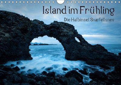 Island im Frühling - Snæfellsnes (Wandkalender 2019 DIN A4 quer), Mike Kreiten
