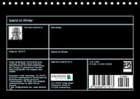 Island im Winter (Tischkalender 2019 DIN A5 quer) - Produktdetailbild 13
