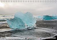Island im Winter (Tischkalender 2019 DIN A5 quer) - Produktdetailbild 1
