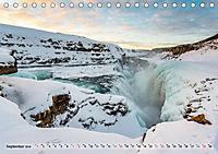 Island im Winter (Tischkalender 2019 DIN A5 quer) - Produktdetailbild 9