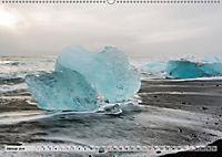 Island im Winter (Wandkalender 2019 DIN A2 quer) - Produktdetailbild 1