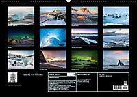 Island im Winter (Wandkalender 2019 DIN A2 quer) - Produktdetailbild 13