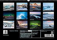 Island im Winter (Wandkalender 2019 DIN A3 quer) - Produktdetailbild 13