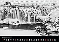 Island in Schwarzweiß (Tischkalender 2019 DIN A5 quer) - Produktdetailbild 10