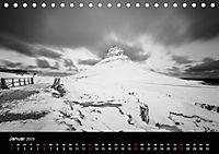 Island in Schwarzweiss (Tischkalender 2019 DIN A5 quer) - Produktdetailbild 1