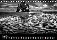 Island in Schwarzweiß (Tischkalender 2019 DIN A5 quer) - Produktdetailbild 8