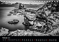 Island in Schwarzweiß (Tischkalender 2019 DIN A5 quer) - Produktdetailbild 2