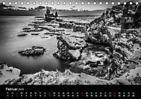 Island in Schwarzweiss (Tischkalender 2019 DIN A5 quer) - Produktdetailbild 2