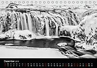 Island in Schwarzweiss (Tischkalender 2019 DIN A5 quer) - Produktdetailbild 12