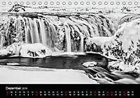 Island in Schwarzweiß (Tischkalender 2019 DIN A5 quer) - Produktdetailbild 12