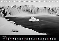 Island in Schwarzweiss (Tischkalender 2019 DIN A5 quer) - Produktdetailbild 10