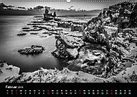 Island in Schwarzweiss (Wandkalender 2019 DIN A2 quer) - Produktdetailbild 2
