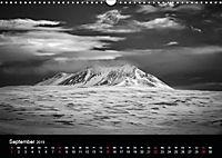 Island in Schwarzweiß (Wandkalender 2019 DIN A3 quer) - Produktdetailbild 5