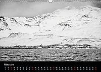 Island in Schwarzweiß (Wandkalender 2019 DIN A3 quer) - Produktdetailbild 12