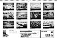 Island in Schwarzweiß (Wandkalender 2019 DIN A3 quer) - Produktdetailbild 8