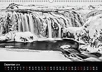 Island in Schwarzweiß (Wandkalender 2019 DIN A3 quer) - Produktdetailbild 4