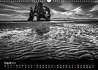 Island in Schwarzweiß (Wandkalender 2019 DIN A3 quer) - Produktdetailbild 9