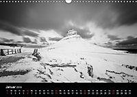 Island in Schwarzweiß (Wandkalender 2019 DIN A3 quer) - Produktdetailbild 3