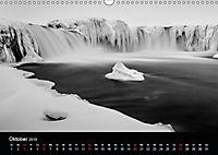 Island in Schwarzweiß (Wandkalender 2019 DIN A3 quer) - Produktdetailbild 10