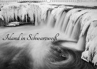 Island in Schwarzweiß (Wandkalender 2019 DIN A3 quer), Markus van Hauten