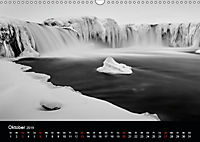 Island in Schwarzweiss (Wandkalender 2019 DIN A3 quer) - Produktdetailbild 10