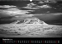 Island in Schwarzweiss (Wandkalender 2019 DIN A3 quer) - Produktdetailbild 9