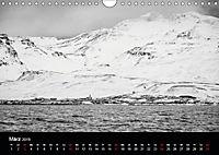 Island in Schwarzweiß (Wandkalender 2019 DIN A4 quer) - Produktdetailbild 3
