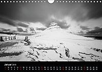 Island in Schwarzweiß (Wandkalender 2019 DIN A4 quer) - Produktdetailbild 1
