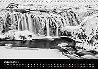 Island in Schwarzweiß (Wandkalender 2019 DIN A4 quer) - Produktdetailbild 12