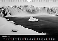 Island in Schwarzweiß (Wandkalender 2019 DIN A4 quer) - Produktdetailbild 10